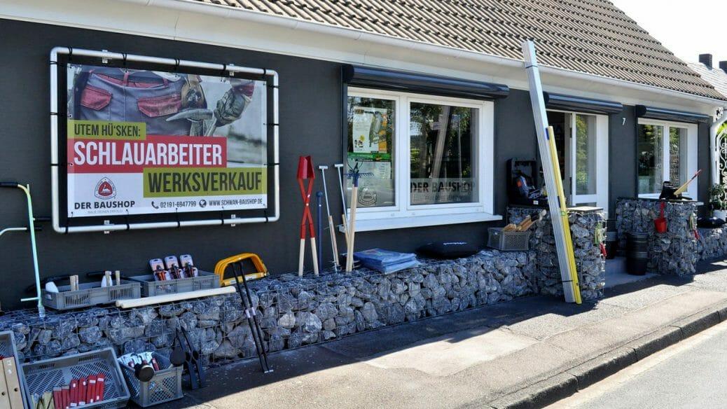 Baumarkt Remscheid - Das Baufachgeschäft der Firma Schwan in Lüttringhausen