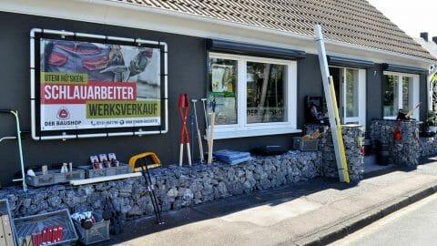 """Mehr als """"nur"""" Werksverkauf: Fachhandel für Werkzeuge und Baustoffe in Remscheid-Lüttringhausen"""