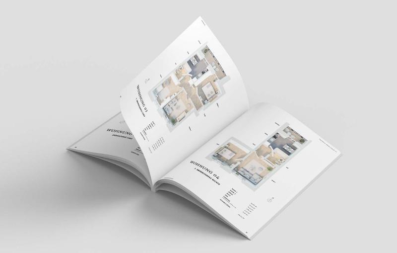 Broschuere-Immobilien-Grundrisse